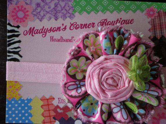 Matilda Jane Paint by Numbers Inspired.Baby Headband.Toddler Headband.Fall Headband.Autumn Headband.FOE Headband.Little Miss Headband on Etsy, $8.50