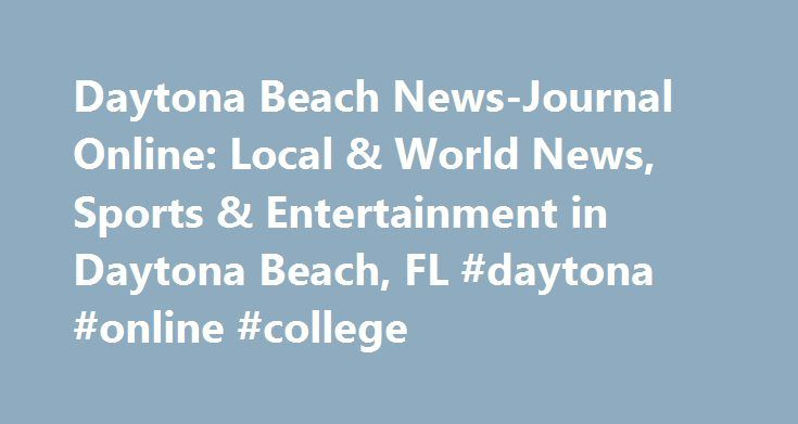 """Daytona Beach News-Journal Online: Local & World News, Sports & Entertainment in Daytona Beach, FL #daytona #online #college http://south-africa.remmont.com/daytona-beach-news-journal-online-local-world-news-sports-entertainment-in-daytona-beach-fl-daytona-online-college/  # As the temperature rose, so did the number of Memorial Day beachgoers in Volusia County. """"Today, everything was at capacity,"""" Volusia County Beach Safety Ocean Rescue Capt. Tammy Marris said. """"Spring Break you have large…"""