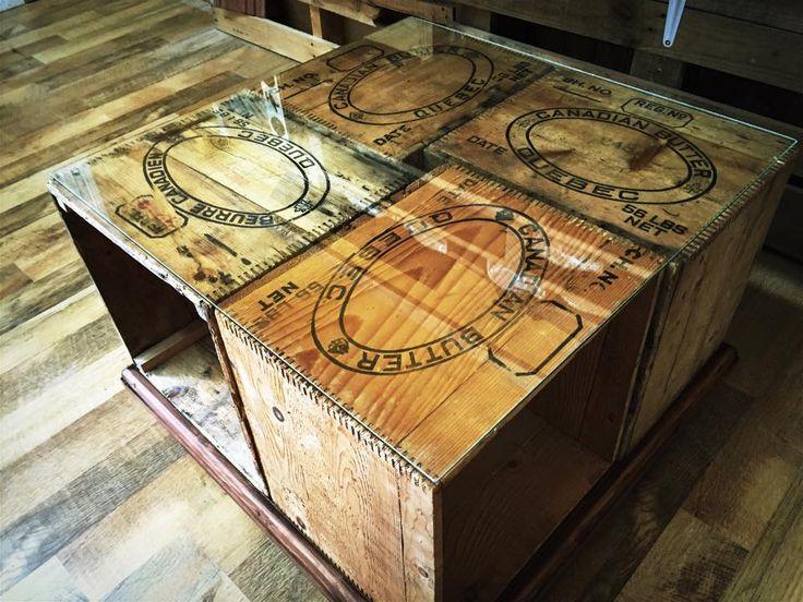1000 id es propos de tables basses de caisse sur for Table basse avec des caisses en bois