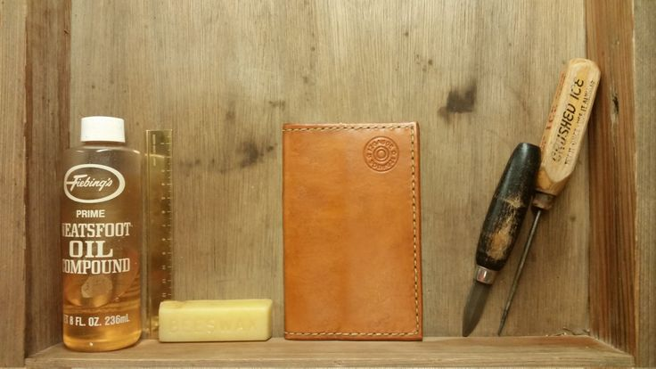 Handmade Cajun Leather Works Field Notes Tablet and Veg Tanned Leather Wallet Tan Color Two Pocket Ready To Ship Free To USA! Made In USA! by CajunLeatherWorks on Etsy