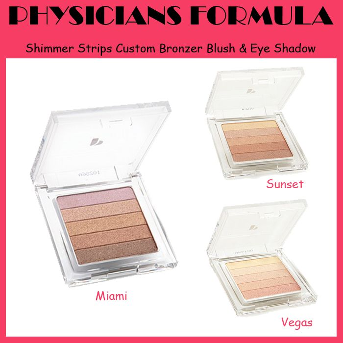 Physicians formula Shimmer Strips Custom Bronzer Blush & Eye Shadow - IDR 249.500 (Free Shipping)