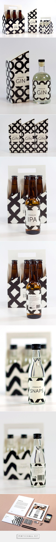 STENHALLEN Beverage Branding and Packaging by Jenny Vesterlund | Fivestar Branding – Design and Branding Agency & Inspiration Gallery | #PackagingInspiration