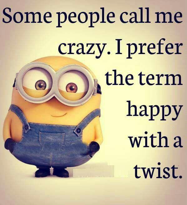 Happy with a twist...