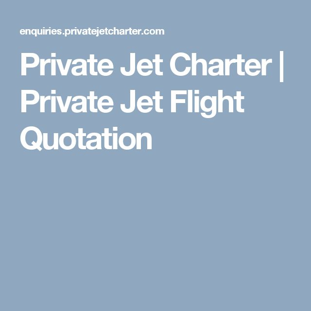Private Jet Charter | Private Jet Flight Quotation