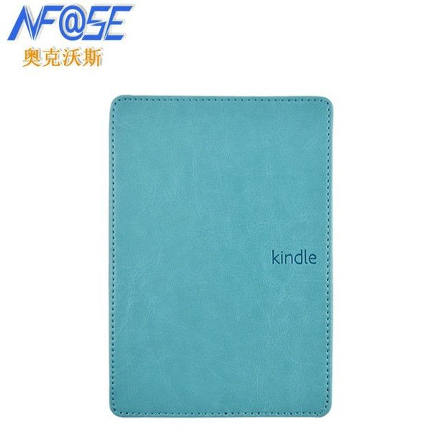 Leather Cover Case for Amazon Kindle 4/5 E-book Reader 6 Inch + Screen Protector