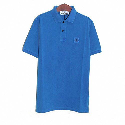 (ストーンアイランド) STONE ISLAND 601522S67 V0022 半袖 ポロシャツ Tシャツ ブルー (並行輸入品) RICHJUNE (S) STONE ISLAND(ストーンアイランド) http://www.amazon.co.jp/dp/B01445JVAQ/ref=cm_sw_r_pi_dp_UUK3vb1VR867H