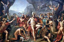 Esparta - Leónidas en las Termópilas,