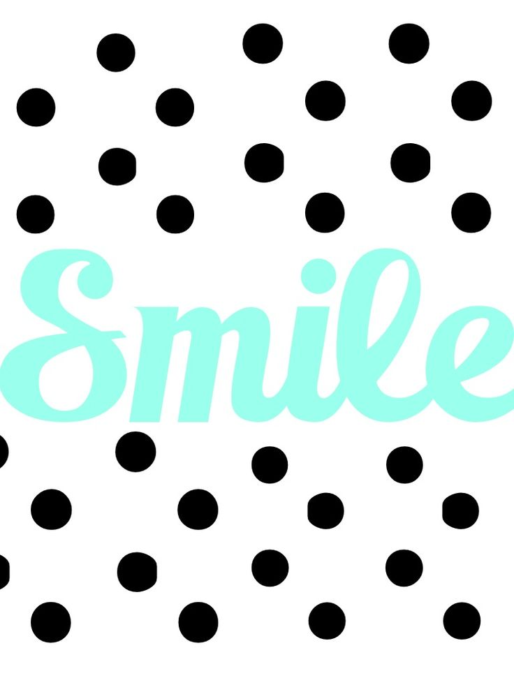 Smile Digital Wallpaper for iPad Mini