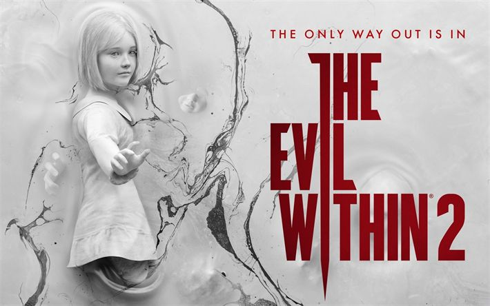 Download wallpapers The Evil Within 2, 2017, survival horror game, poster, promo, new games