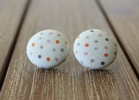 Going Dotty Handmade Earrings $14 + postage  In store now - able to ship next business day.  SOLD www.quirkystreet.com.au