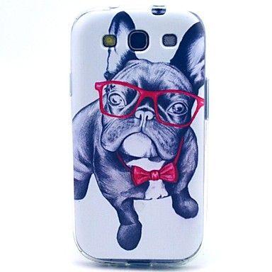 wang glazen hond TPU zachte hoes voor Samsung Galaxy S3 i9300 – EUR € 3.91