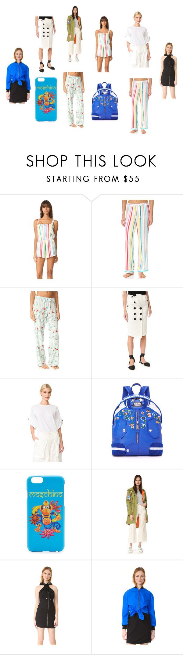"""""""printed fashion"""" by kristen-stewart-2989 ❤ liked on Polyvore featuring Morgan Lane, Monse, Moschino and vintage"""