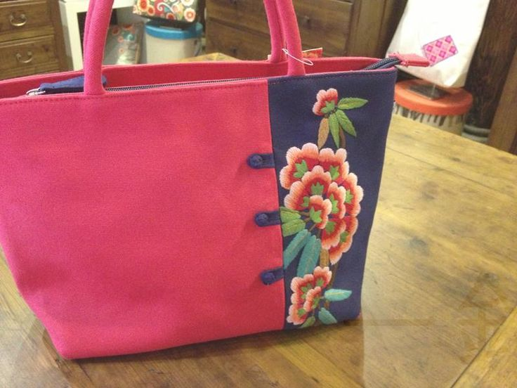 $165 #936700  #FingerTip #Embroidery#Handbags  #ClawFlower --- Materials:Linen Cloth / Size:24.5CM(Down)/32CM(Up)*22CM*11CM - cross body bags,  customized hats,  custom embroidery no minimum,  monogrammed backpacks,  custom embroidered towels,  -- Keywords: