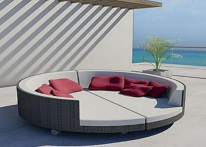 Contemporary Iron Patio Furniture Cushions Set ~ Http://lanewstalk.com/the
