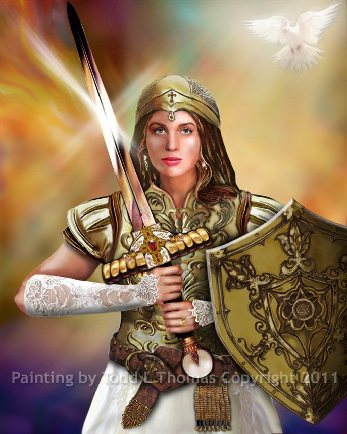 Warriors For Christ | christian - Warrior Bride Of Christ by Todd L Thomas