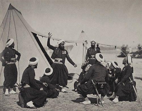 Zouave Storyteller, 1857