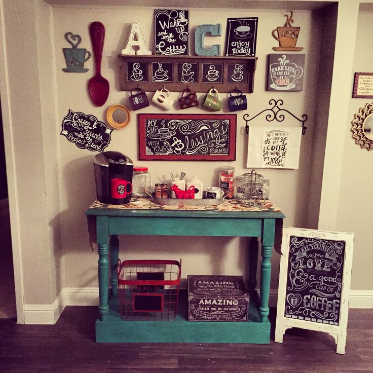 my diy coffee bar coffee bar diy pinterest paint. Black Bedroom Furniture Sets. Home Design Ideas