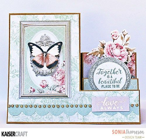 Playing with cards and Sage & Grace - Kaisercraft Official Blog