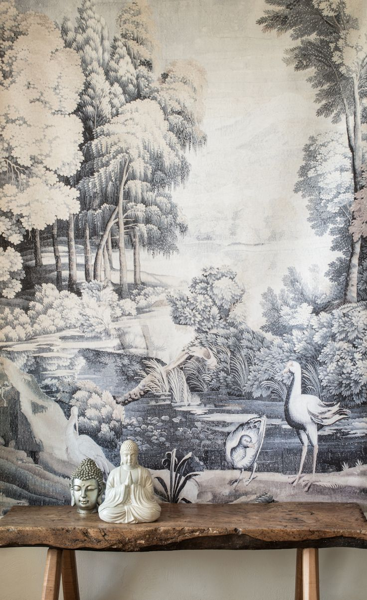 Verdure with Birds Wall-hanging £1,100.00  #neutrals #collection #wall-hanging #interiors #tapestries #zardi&zardi