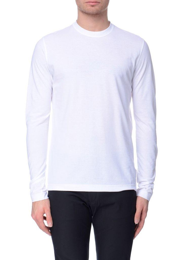 Zanone - SS17 - Menswear // White t-shirt in cotton
