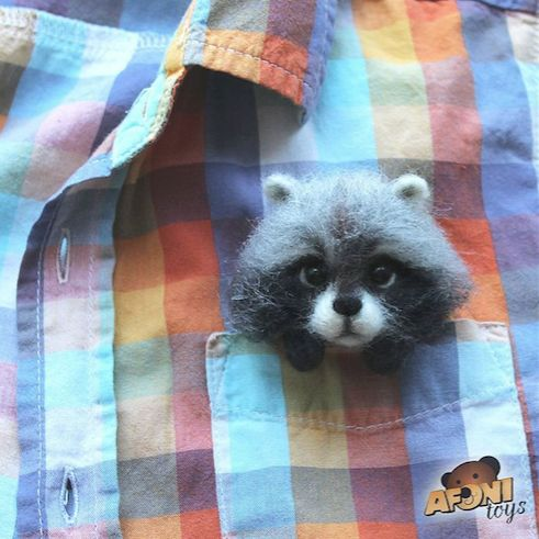 [2016.9.18] Wonder Zoo   Needle Felted Wool Animals Projects Inspirati   Feltify