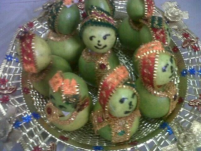 Fruits Tray Gift Engagement Decorations Marriage Gifts Indian