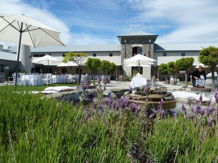 Courtyard at Mount Soho Winery Venue