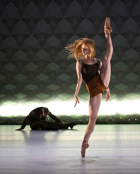 Grete Sofie Borud Nybakken of the Norwegian National Ballet. Photo by Jörg Wiesner