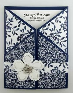 Floral Boutique card by Becky Jensen
