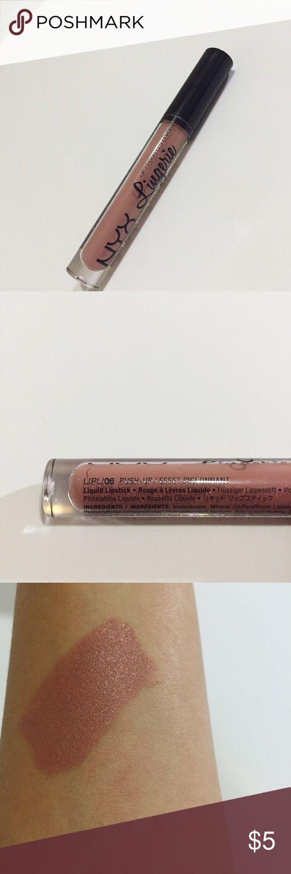 NYX Lingerie Push Up NYX Lingerie in Push Up | NEVER USED NYX Makeup Lipstick