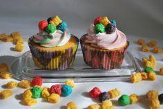 Captain Crunch Cupcakes