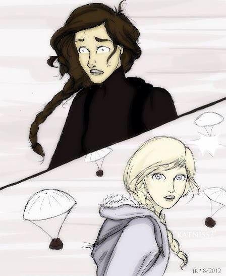 Katniss y Prim :'D