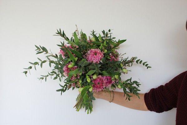 Ranunculus, Alstromeria and Eucalyptus