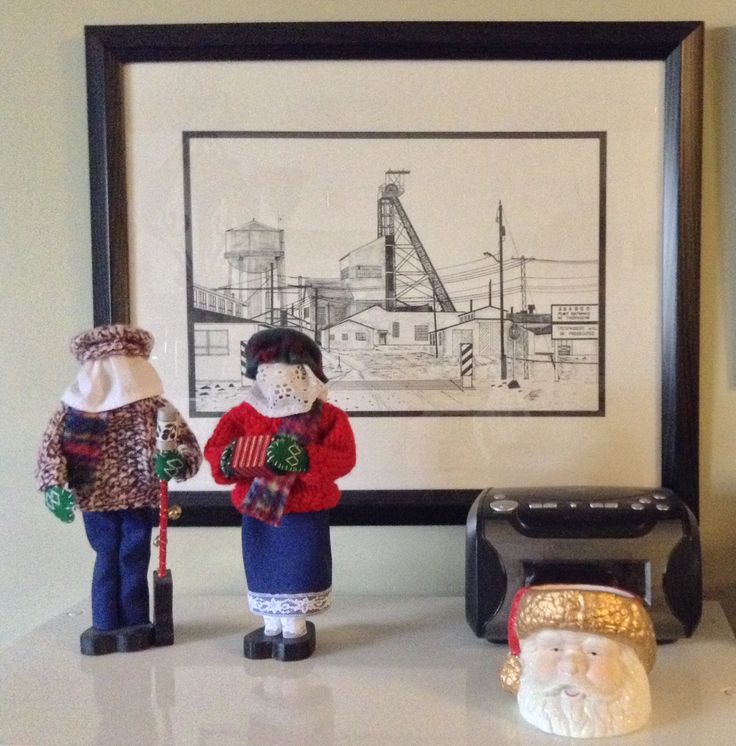 Mummering - an old Newfoundland tradition during the 12 days of Christmas...