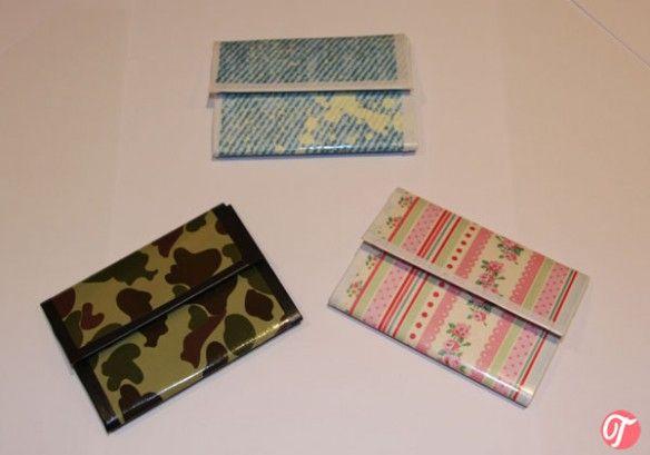 ¡DIY Monederos-billeteras!