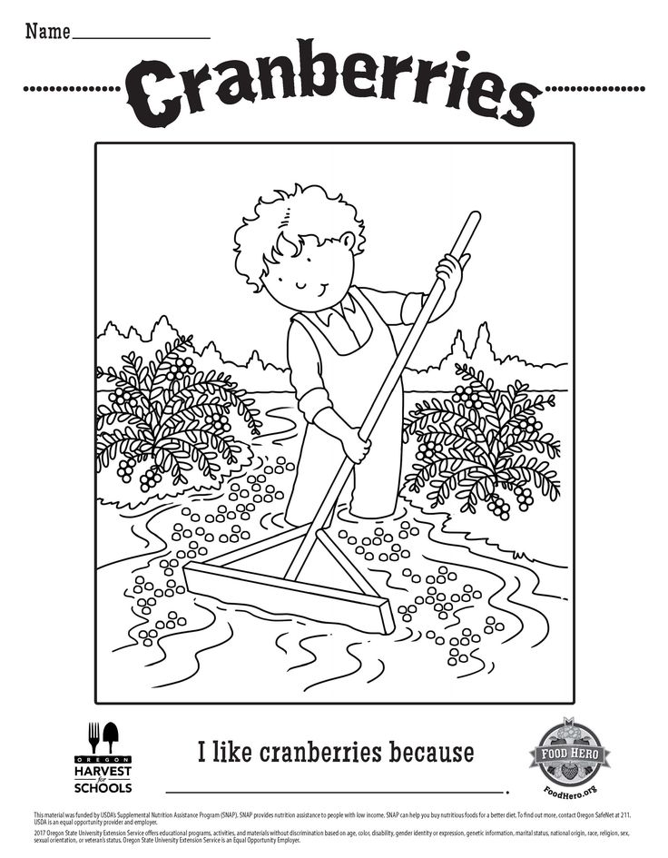 142 best Coloring Sheets - English and Spanish - Food Hero - Free ...