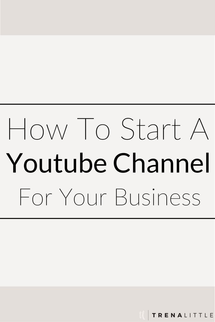 How To Make A Youtube Channel For Your Business — Trena Little   Video Content Strategist  Creating video content for your business not only builds your authority but makes it 53 times more likely for your website to show up on a front page Google result!  Click this pin to get my top 3 tips on how to get your business started on Youtube today!