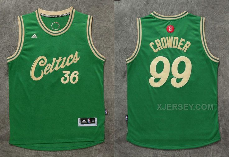 f0c25767dbf6 ... Boston Celtics - NBA Jerseys Clothing Sports Outdoors  httpwww.xjersey.comceltics-99-jae-crowder -green-201516- ...