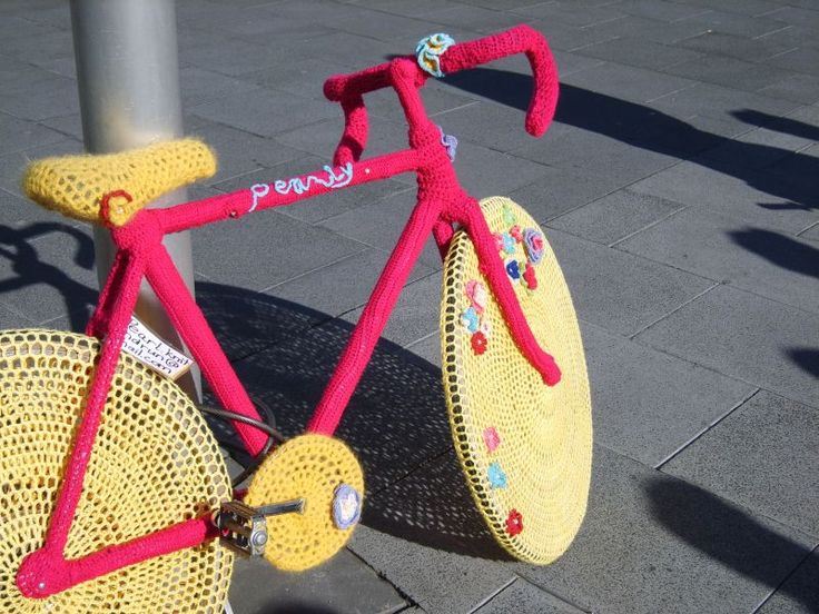 Street Art Urban Knitting ©