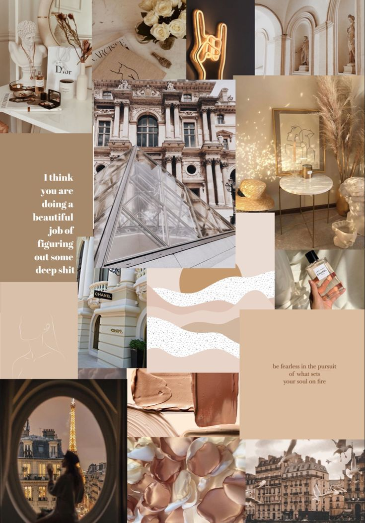 iPad wallpaper tan neutral Parisian vintage in 2020 ...