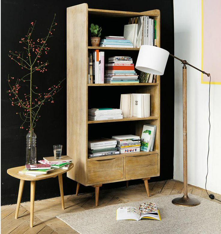 Miluccia ◆: Maisons du monde réédite Pierre Guariche Note the bookshelf with legs