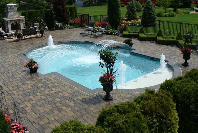 1662 best awesome inground pool designs images on for 10x20 pool design