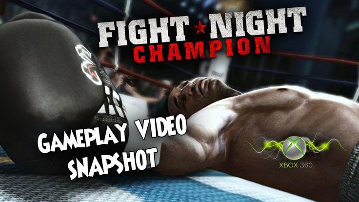 Fight Night Champion XBOX 360 Gameplay Video Snapshop 1080p 60fps