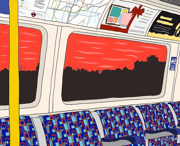 View from London Jubilee Line by m-lapino