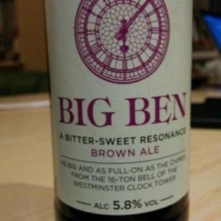 Big Ben - Daniel Thwaites Brewery - caramel and lots of fruits - beauty it is #BeerOClock #BigBen #DanielThwaites