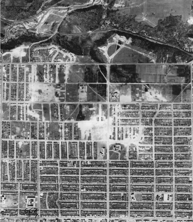 Old East York ariel pic 1942