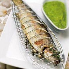 Geroosterde forel met salsa verde recept - Vis - Eten Gerechten - Recepten Vandaag