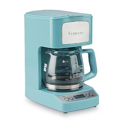Java Studio Coffee Maker : Kenmore 5-Cup Light Blue Coffee Maker Random Stuff I like Pinterest Coffee maker, Light ...