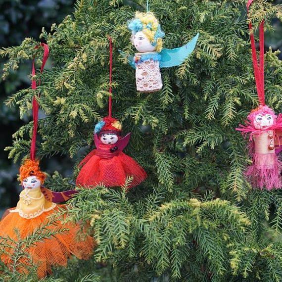 Christmas Fairy Angel Tree DecorationOrnamentChristmas