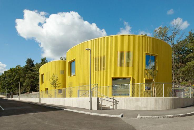 Tellus nursery school, Stockholm. Tham & Videgårdh. » Lindman Photography